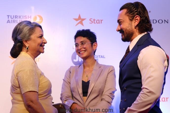 Sharmila Tagore, Kiran Rao and Aamir Khan