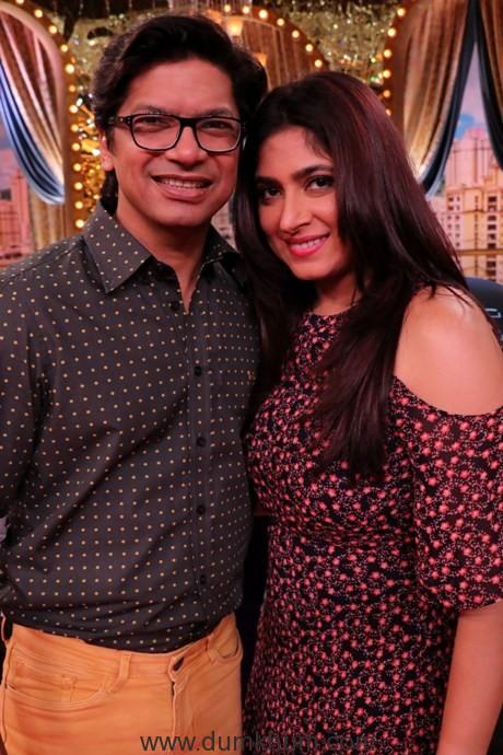 Singer Shaan with wife Radhika