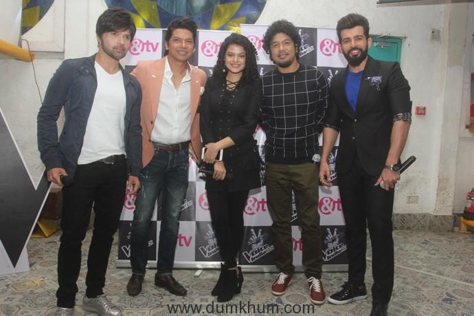 TheVoice India Kids Season 2_Himesh_Shaan_Palak_Papon_Jay