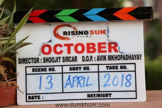 Varun Dhawan starrer October to release on 13th April, 2018 (2)