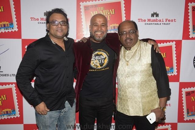 13. Deepak Pandit with Dr. Vinod Hasal (President) and Ram Shankar