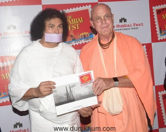 18. Dr. Lokesh Muni with Indradyumna Swami