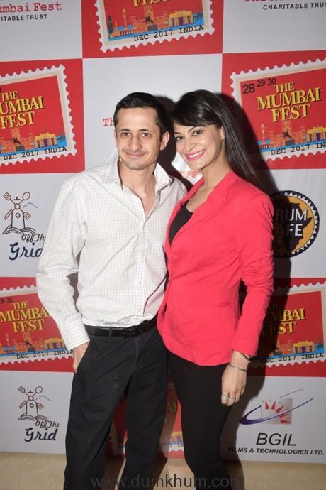 21. Shiv Raheja with Cyndy Brar