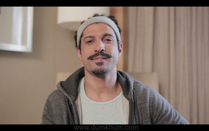 Farhan Akhtar - Moustache look