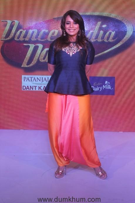Mini Pradhan at the Dance India Dance season 6 press conference