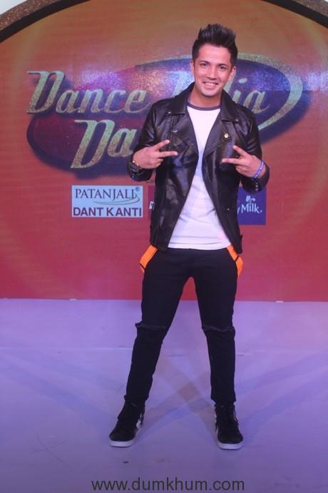 Mudassar Khan at the Dance India Dance season 6 press conference