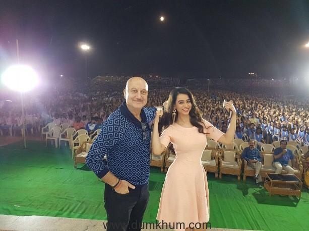 Soundarya Sharma attends the 3rd Kalinga International Film Festival!