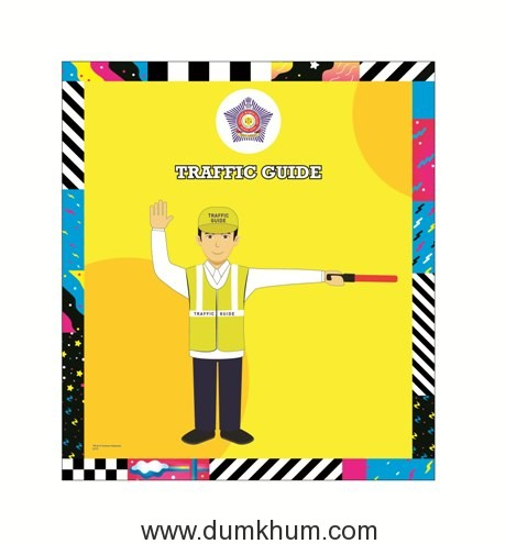 Mumbai Police Poster 4x4.5_1