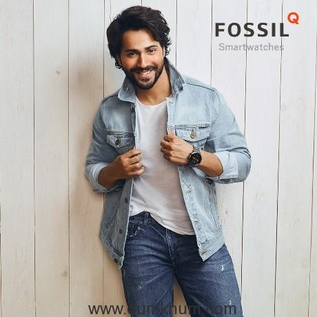FOSSIL announces Varun Dhawan and Shruti Haasan as its new Brand Ambassadors