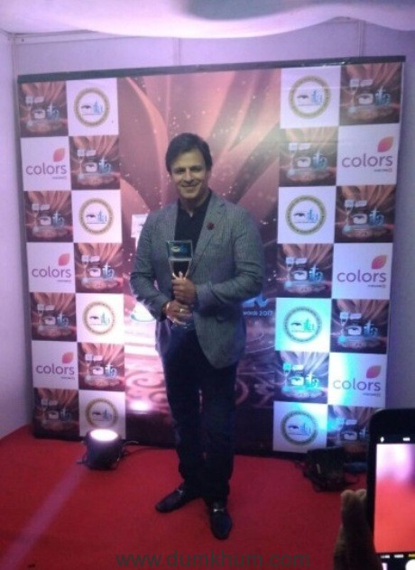 Vivek Oberoi wins Best Actor in Web Series at Indian Television Academy Awards 2017-