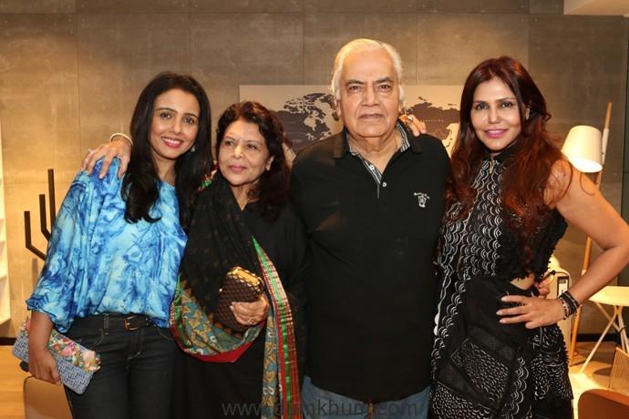 2 Suchitra, Shashi & Shyam Bansal, Nisha JamVwal