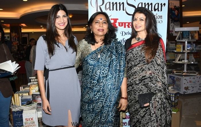 3. Aahana Kumra, Abha Singh, Bhagyashree