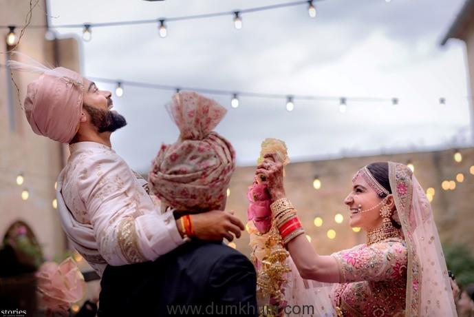 Anushka Sharma and Virat Kohli wedding 2