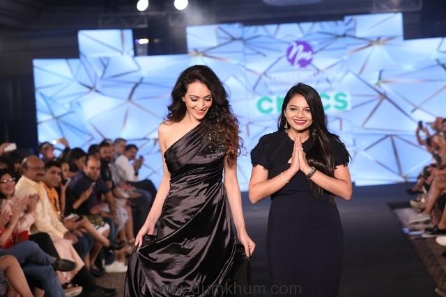 Dipannita Sharma and Nidhi Munim at IIFW_Season_1