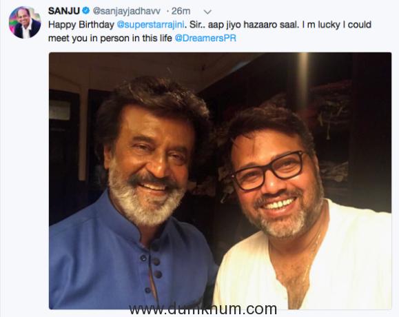 Director Sanjay Jadhav's Greet Meet with Thalaiva Aka Rajinikanth! -Screen Shot 2017-12-12 at 6.43.42 pm