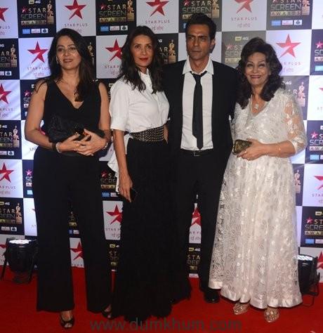 Komal, Mehr, Arjun and Gwen Rampal (1)