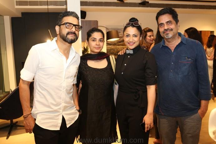 (L-R) Sunil Padwal, Seema Shetty, Tanuja Padwal, Sudarshan Shetty