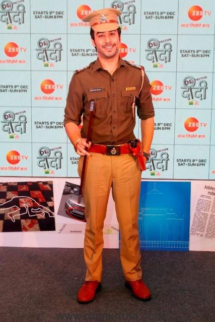 Manish Goplani as Bhim Singh Bhullar in Zee TV's Detective Didi (2)