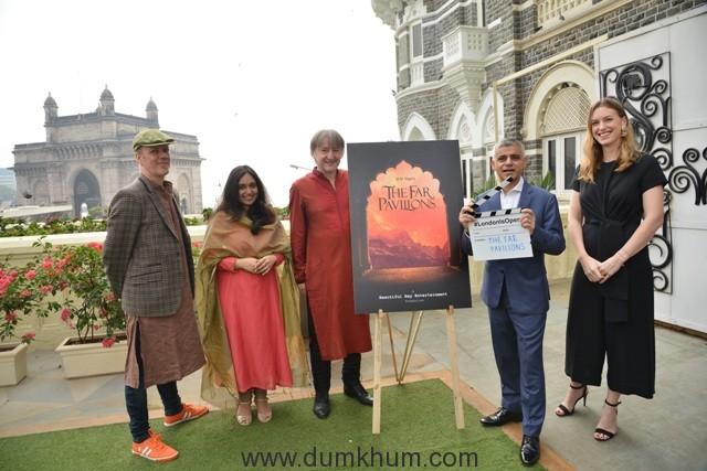 Producer of Far Pavilions, Michael Ward and Mayor of London, Sadiq Khan (1)