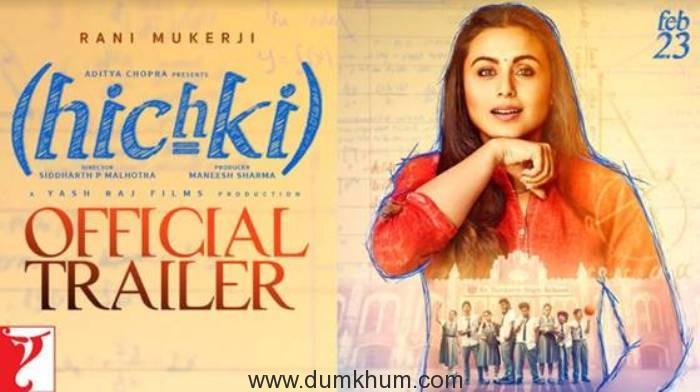 Rani Mukerji is back with Hichki!