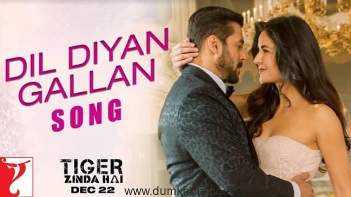Salman-Katrina show crackling chemistry in Dil Diyan Gallan from Tiger Zinda Hai