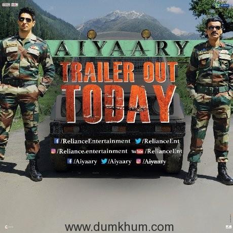 Sidharth-Manoj starrer Aiyaary Trailer-
