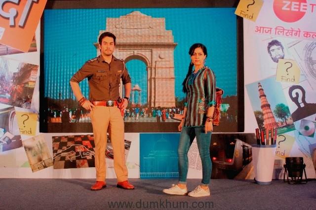 Sonia Balani (Bunty Sharma) and Manish Goplani (Bhim Singh Bhullar) in Zee TV's Detective Didi (3)