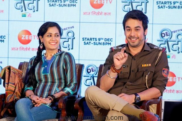 Sonia Balani and Manish Goplani at the launch of Zee TV's Detective Didi