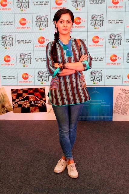 Sonia Balani as Bunty Sharma in Zee TV's Detective Didi (2)