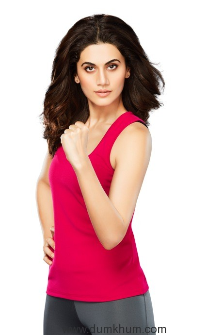 Taapsee Pannu Stands Strong with Women's Horlicks