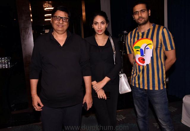 Vashu Bhagnani, Prernaa Arora and Arjun Kapoor