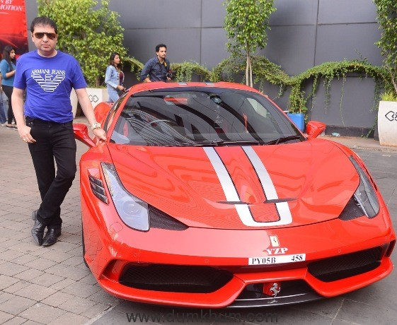 When a billionaire showed up at Ferrari's 70th anniversary Mumbai Drive