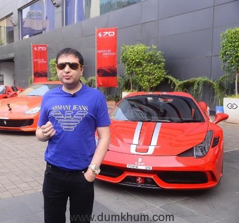 Yohan Poonawalla_Ferrari's 70th anniversary Mumbai Drive_1