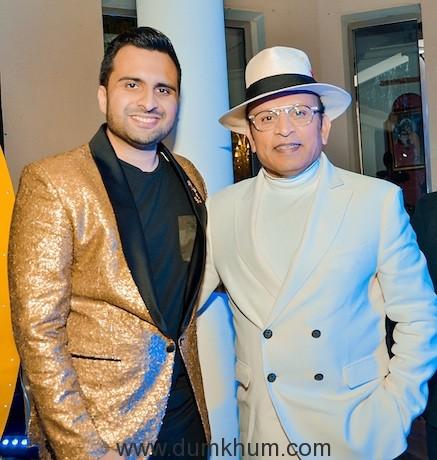 Adel sajan and Anu Kapoor