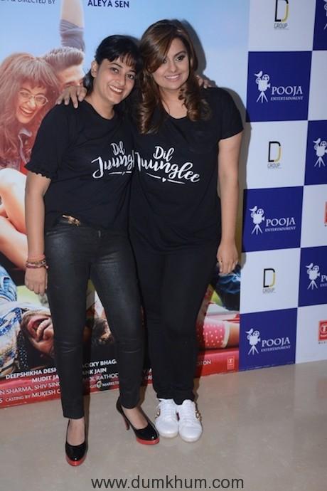 Aleya Sen & Deepshikha Deshmukh.