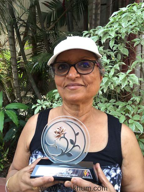 ArunaRaje bags Rashtriya Gaurav Award!