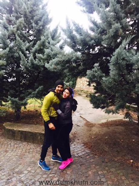 Gurmeet Choudhary and Debina Bonnerjee backpack through Europe! -3