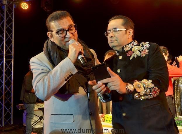 Singer Abhijeet and Rizwan Sajan