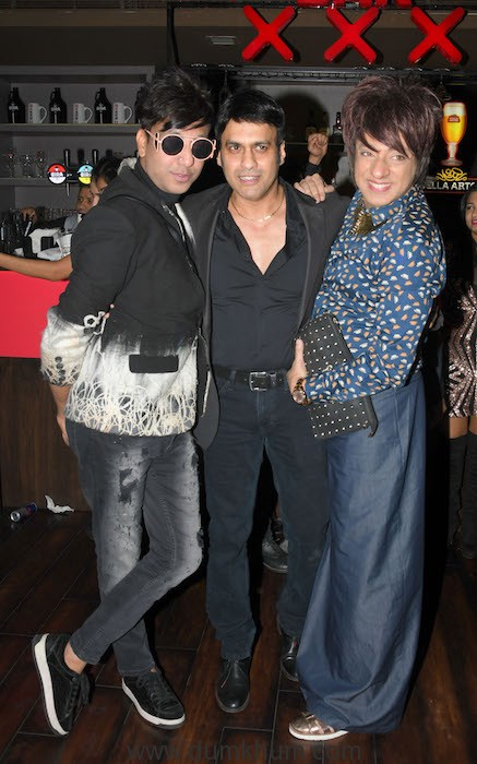 2. Monaj Williams with Rehan Shah and Rohit Verma at the Launch of Club XXX DSC_5525