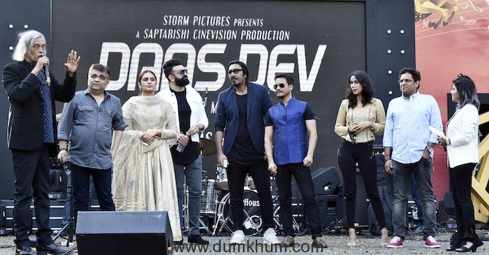 Daas Dev – A Sudhir Mishra Film's Music Gets A Grand Launch