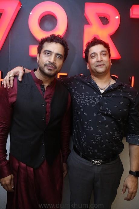 DJ AKBAR SAMI WITH Mr. Santosh Shetty_Founder of Brand VORTEX