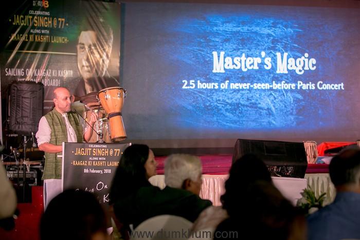 Jagjit Singh's 77th birthday celebration event -11
