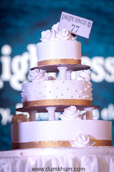Jagjit Singh's 77th birthday celebration event -4-