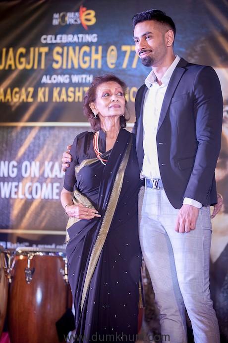 Jagjit Singh's 77th birthday celebration event -4