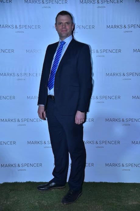 James Munson Managing Director Marks & Spencer India