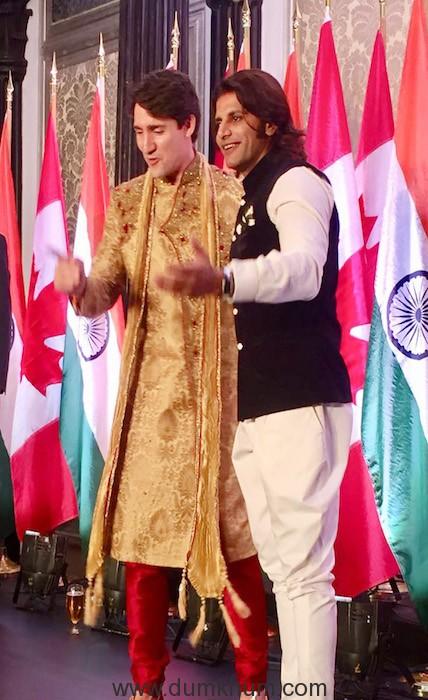 Karanvir Bohra Met Canada's Hon. Prime Minister Justin Trudeau
