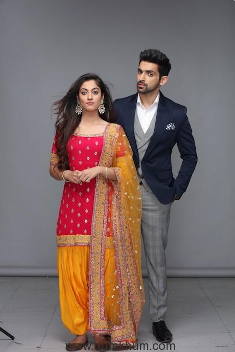 Lead Actors - Arjit Taneja and Aditi Sharma of Zee TV's show Kaleerein (2)