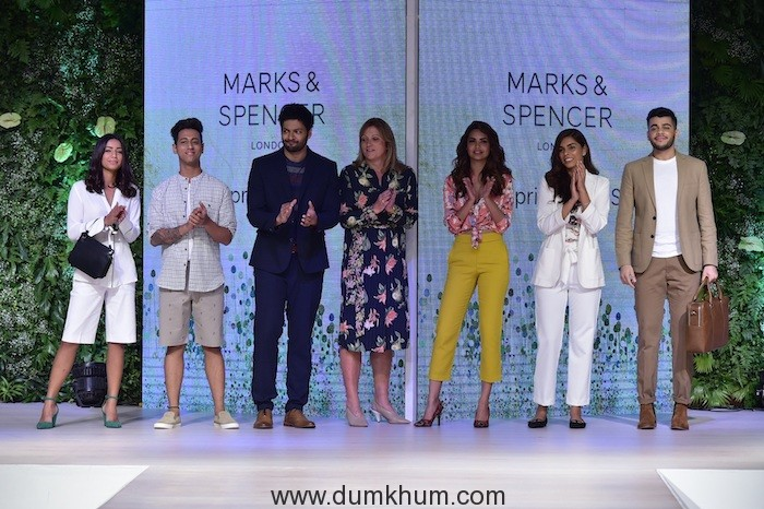 Marks & Spencer launches Spring Summer 2018 Collection   with Fashion Show featuring Esha Gupta and Ali Fazal