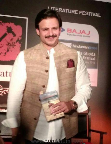 Vivek Oberoi turns a storyteller at a Literature Festival!