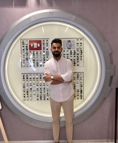 Tissot, the renowned Swiss watch brand launched its new Boutique at Palladium Mall with Brand Ambassador Virat Kohli